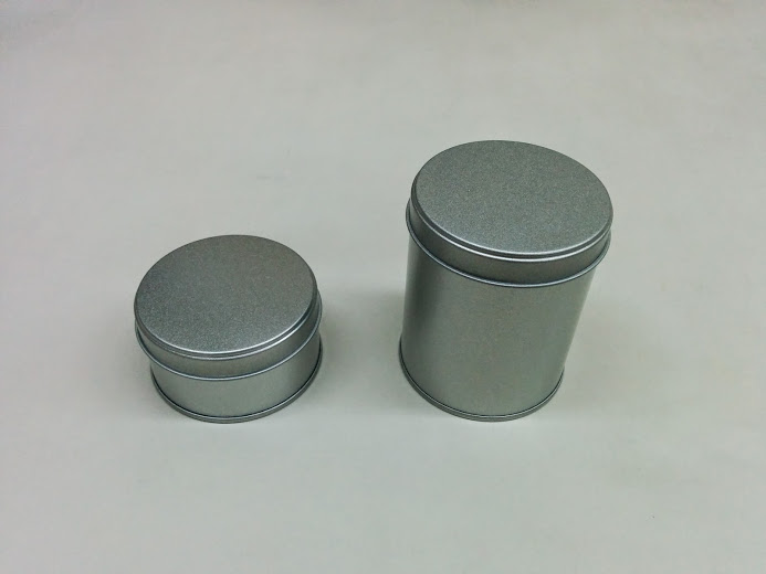 お菓子の缶製作