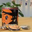ハロウィン スマイル缶
