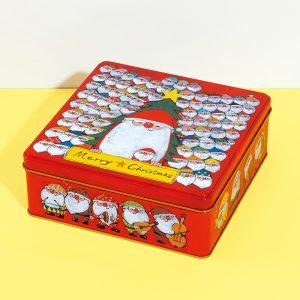 100人サンタ缶